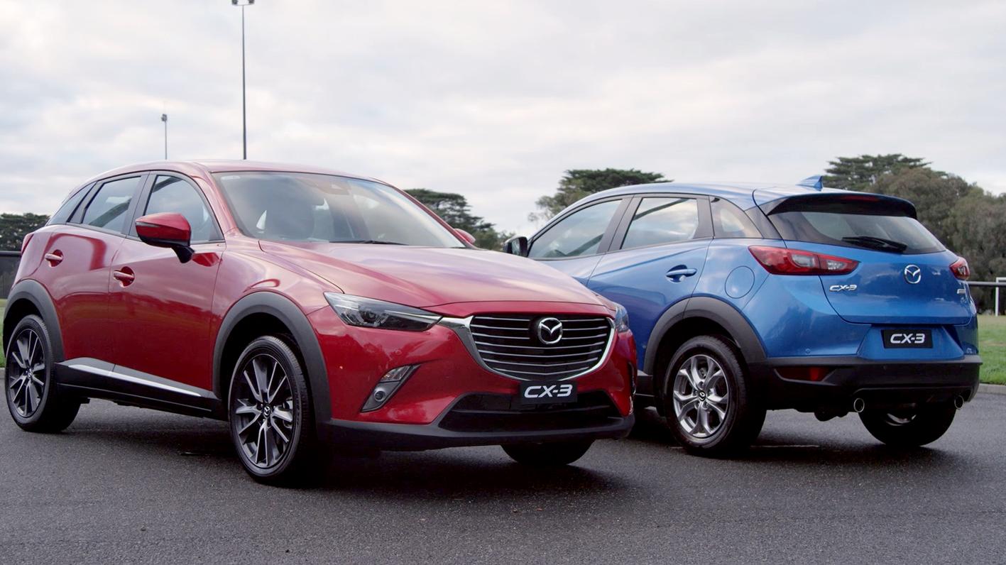 2017 Mazda CX-3 B-roll