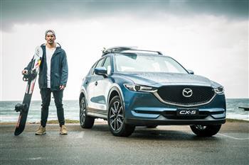 Alex 'Chumpy' Pullin signs new ambassadorship with Mazda