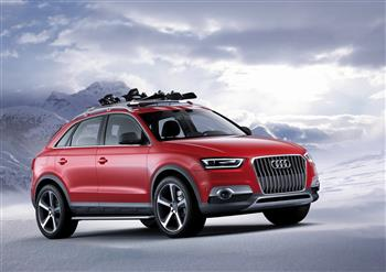 Audi Q3 Vail revealed at 2012 Detroit