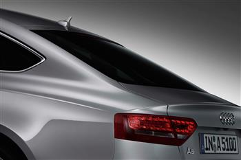 Audi's completely new 2010 A5 Sportback has broken cover