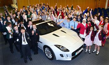 Barnet School Pupils Beat 100,000 Young People To Win Jaguar Maths In Motion Challenge World Final