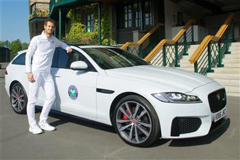 The Jaguar XF Sportbrake Trophy Tour: Murray, Mourinho And The Stolen Wimbledon Trophy