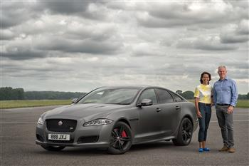 Gone In 44 Seconds: New Jaguar XJR575 Hosts 300kph Interview