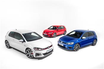2017 Volkswagen Golf 7.5 GTI Performance range