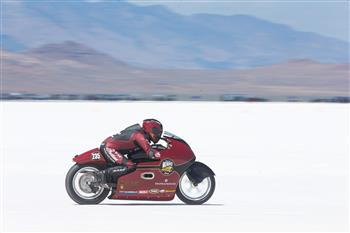 Indian Motorcycle Celebrates Burt Munro's Legacy And The 50th Anniversary Of His Land Speed Record At Bonneville Salt Flats