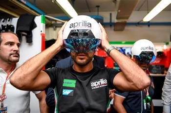 Aprilia Racing unveils cutting edge Augmented Reality at Misano