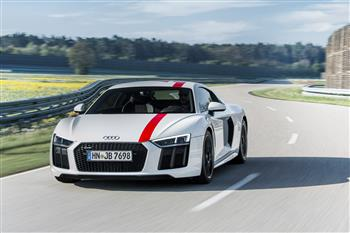Audi R8 V10 RWS announced at Frankfurt