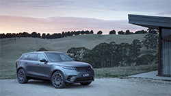 Range Rover Velar, a mid-size luxury SUV that delivers new levels of refinement, elegance and technology.