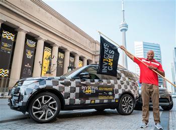 Jaguar Land Rover Celebrates Team Behind The Team At Invictus Games Toronto