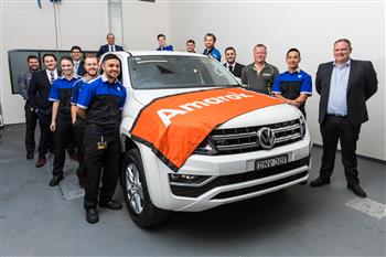 Volkswagen Australia challenges apprentices to build race-ready Amarok