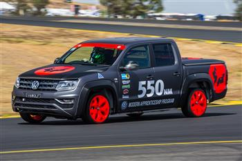 Apprentice-built Amarok V6 smashes two minute mark World Time Attack Challenge