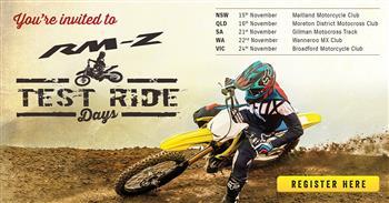 2018 Suzuki RM-Z Ride Days