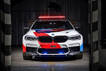 Innovative technology for safety in the pinnacle of motorcycle racing: the new BMW M5 MotoGPTM Safety Car.