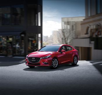 2017 Mazda3, Soul Red Crystal