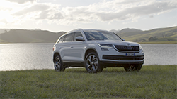 ŠKODA's all-new KODIAQ seven-seat 4x4 SUV.