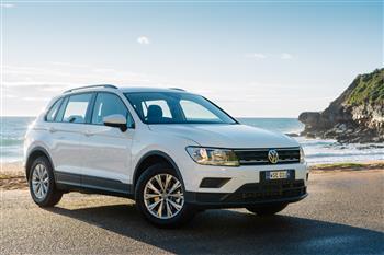2017 Volkswagen Tiguan 110TSI Trendline