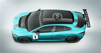Jaguar I-PACE eTrophy prototype  Heading For 2017 LA Show