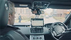 Jaguar Land Rover is taking part in the UK's first road tests for autonomous and connected vehicles...