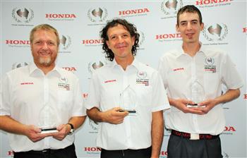 Honda's Motorcycle Excellence Award Winner Announced