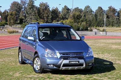 2008 Kia Carnival Sport Limited Sports