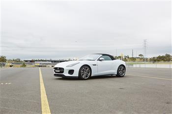 2018 Jaguar F-TYPE 4 cylinder