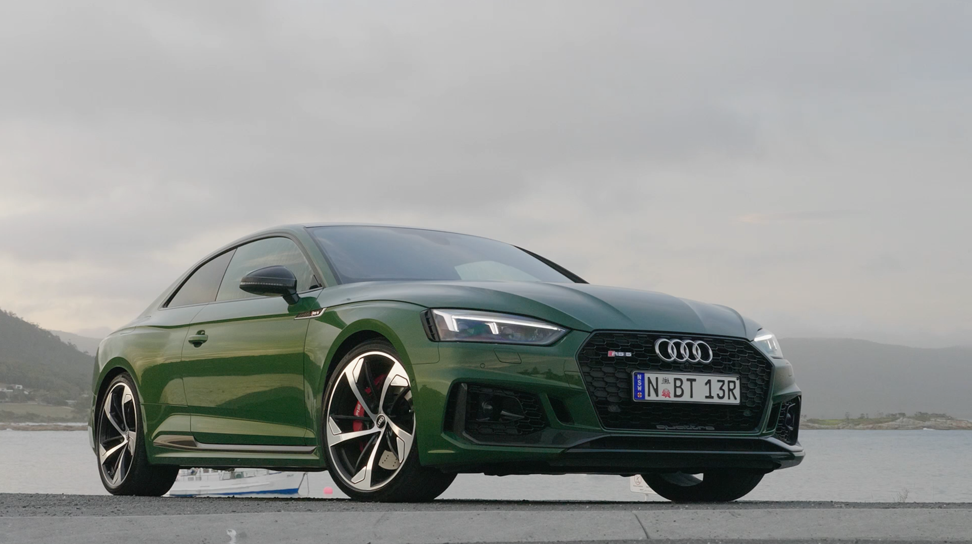 The scintillating all-new Audi RS 5 Coupe has landed in Australia...