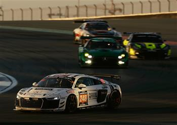 GT4 version of the Audi R8 LMS takes one-two on debut in Dubai