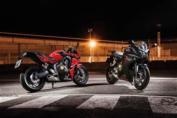 2018 Honda CBR650F