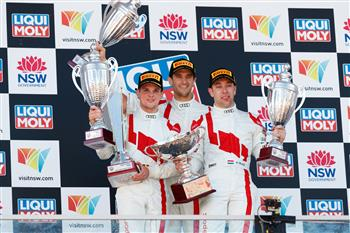 Audi Sport Team WRT takes  victory in bruising Bathurst 12 Hour encounter