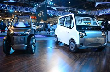 Mahindra showcases the 'Future of Mobility' at Delhi Auto Expo 2018