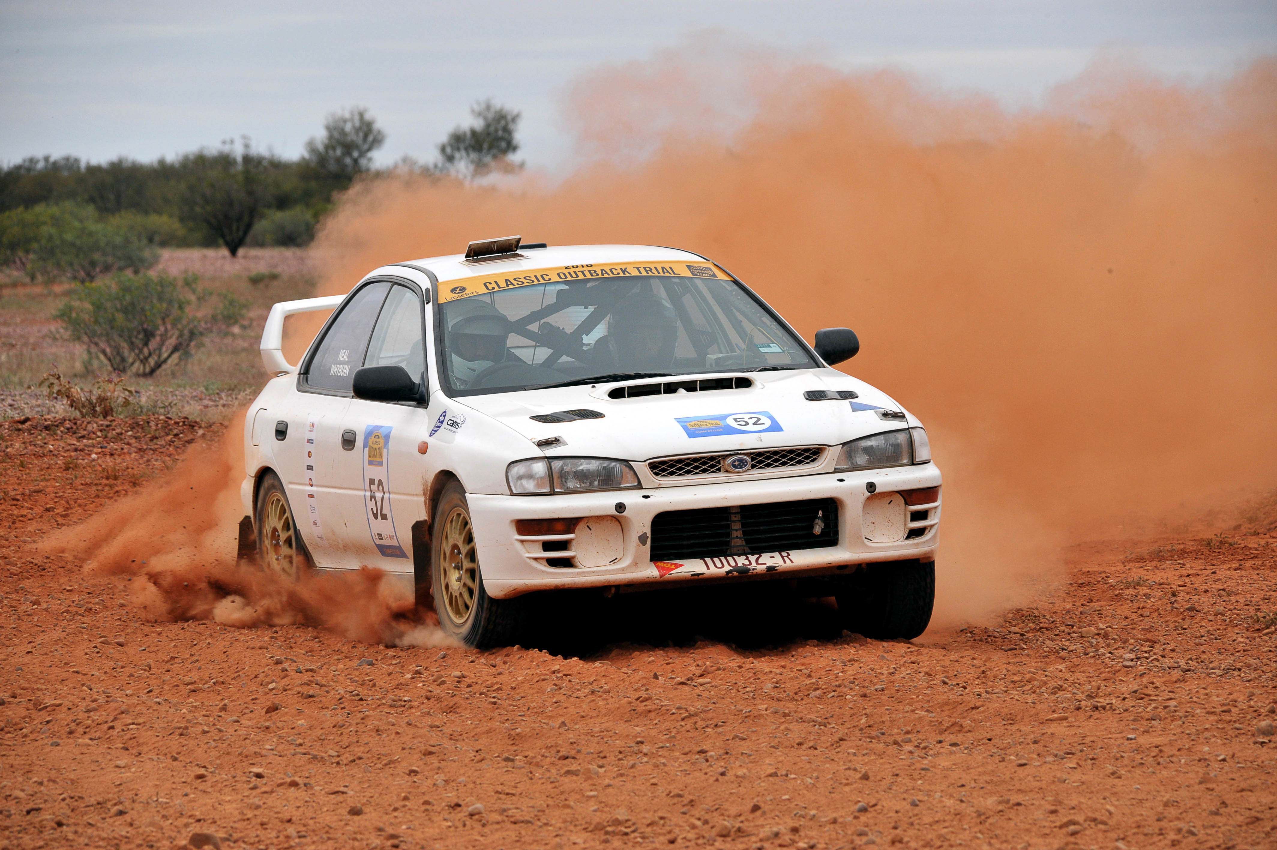Modern Rally Cars Eligible for Classic Outback Trial - The Deadline ...