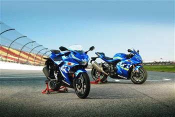 2018 Suzuki GSX-R125 ABS and GSX-R1000