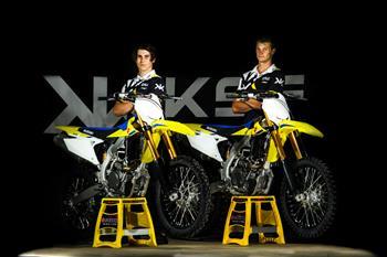 KSF ECSTAR Suzuki MX1 Rider Line Up