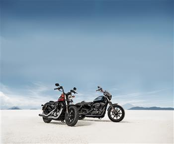 2018 Forty-Eight® Special  and 2018 Iron 1200™
