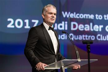 Audi Australia Managing Director, Paul Sansom.