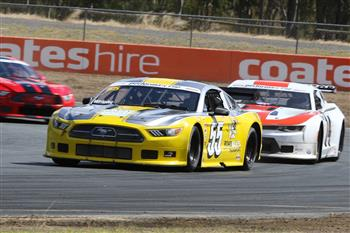 Performax Makes A Spectacular Show With Transam 2 Muscle Cars At Queensland Raceway