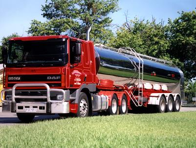 Stoitse Goes Dutch with New DAF's for Tanker Work