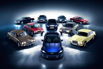 XJ50 Celebrates Five Decades Of Jaguar's Legendary Saloon