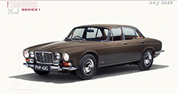 50 years of Jaguar XJ.