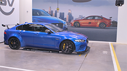 Engineering fine-tuning on the new Jaguar XE SV Project 8 has almost finished, ahead of production starting in June...