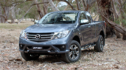 2018 Mazda BT-50 Freestyle B Roll footage.