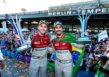 Audi takes 1-2 podium finish in Formula E, Berlin