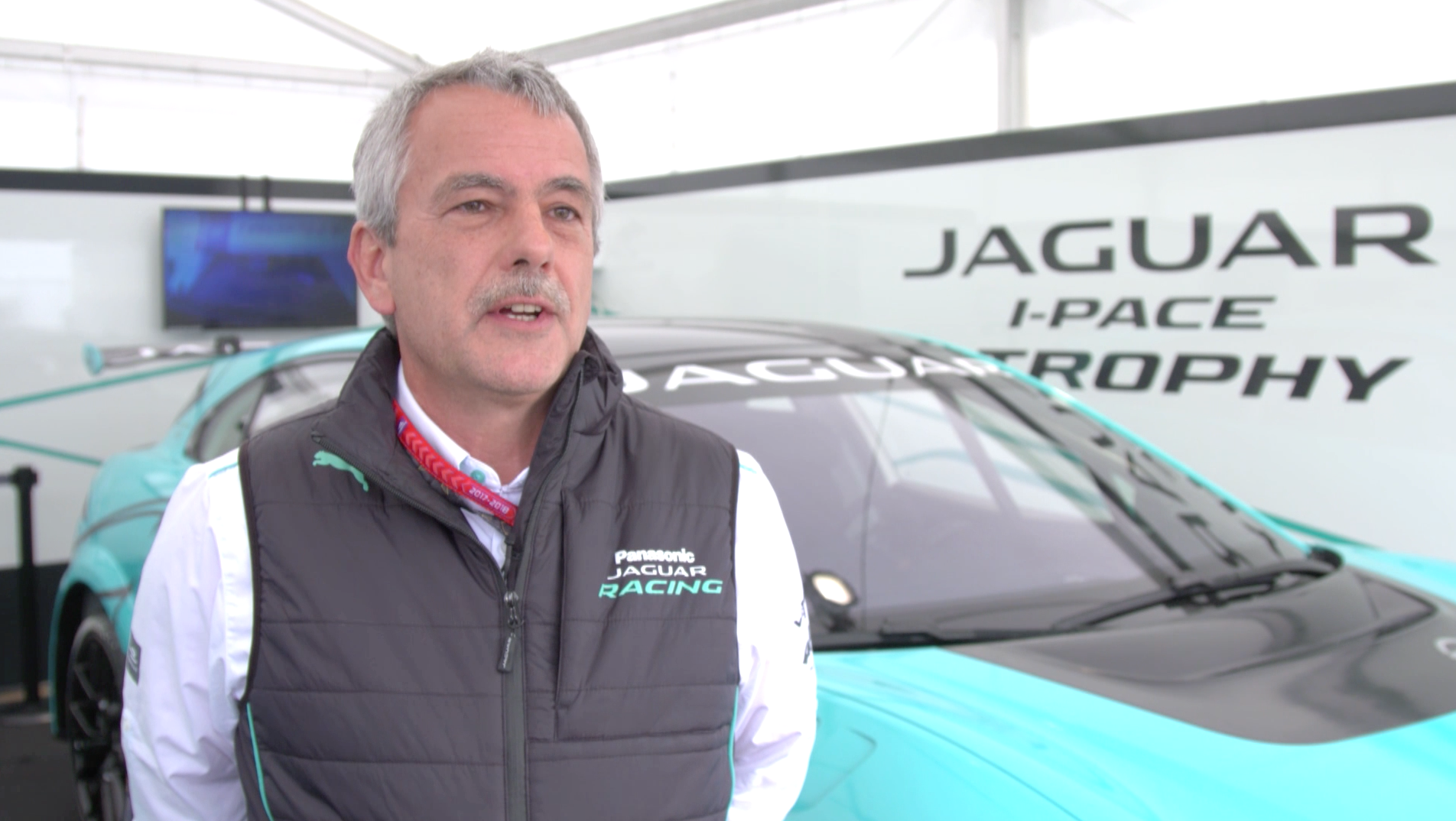 IV Gerd Mäuser, Chairman Jaguar Racing.