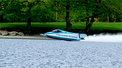 Jaguar Vector Racing have broken the outright world and national electric speed records in a battery-powered boat...