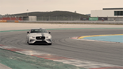2018 Jaguar XE SV Project 8 - Tracking Slow Motion.