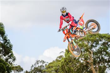 KTM Racing Team rider Egan Mastin