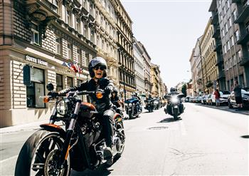 110,000 Fans Rock Out At Harley-Davidson's® 115th Anniversary In Prague