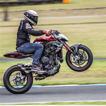 MV Agusta's Lukey Luke to star at 'Blessing of the Bikes!'