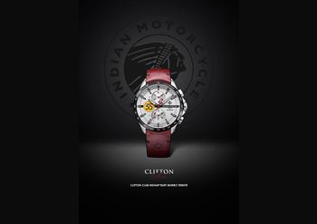 Baume & Mercier and Indian Motorcycle watch launch