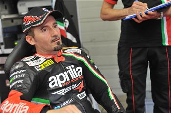 Max Biaggi Becomes A Global Ambassador For Aprilia